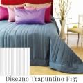 Trapuntino Leggero su Misura Maxi King Size 80G/160G. Mq. Cotone Extra Fine Line Hotel