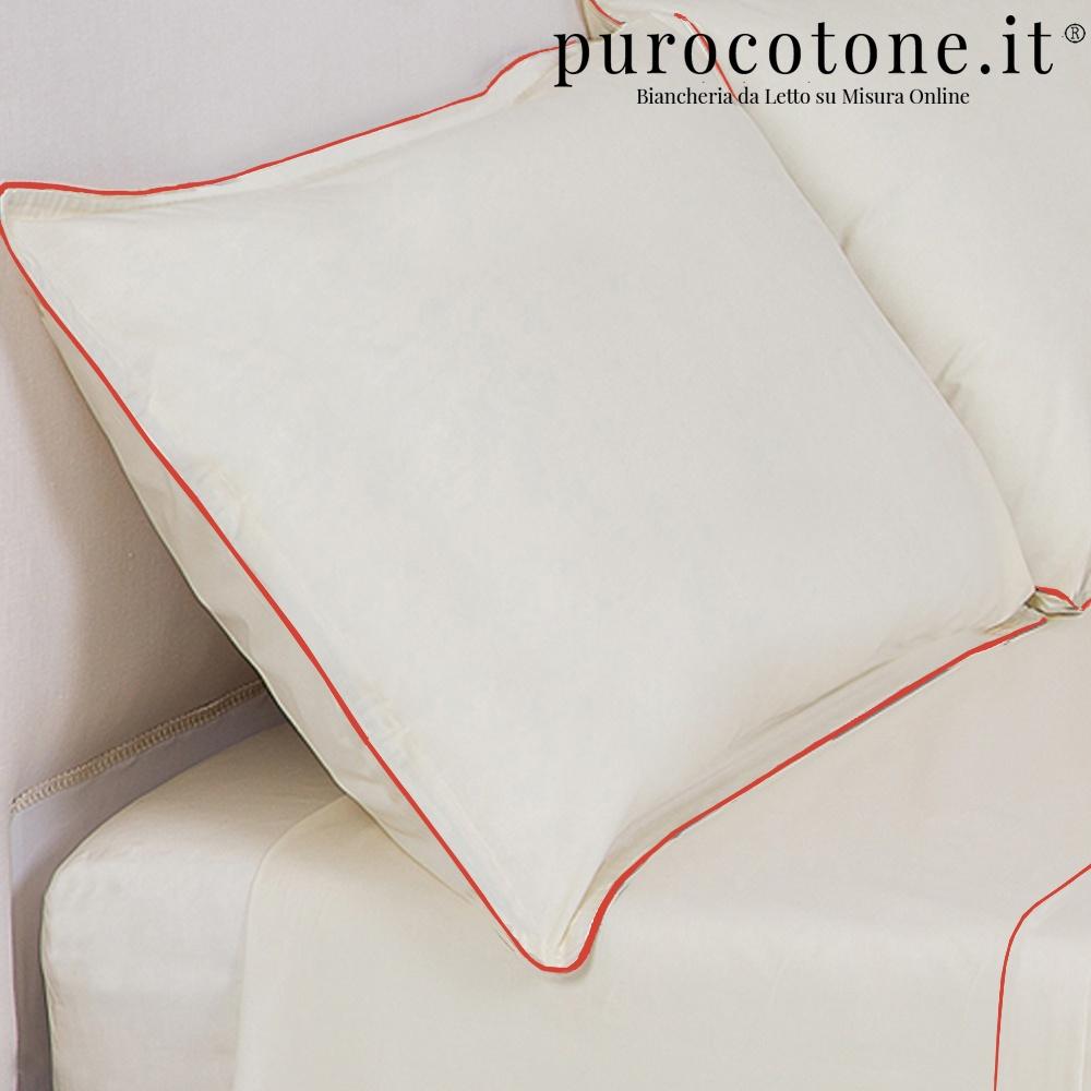 Federa Percalle Extra Fine di Puro Cotone TC200 Minimal