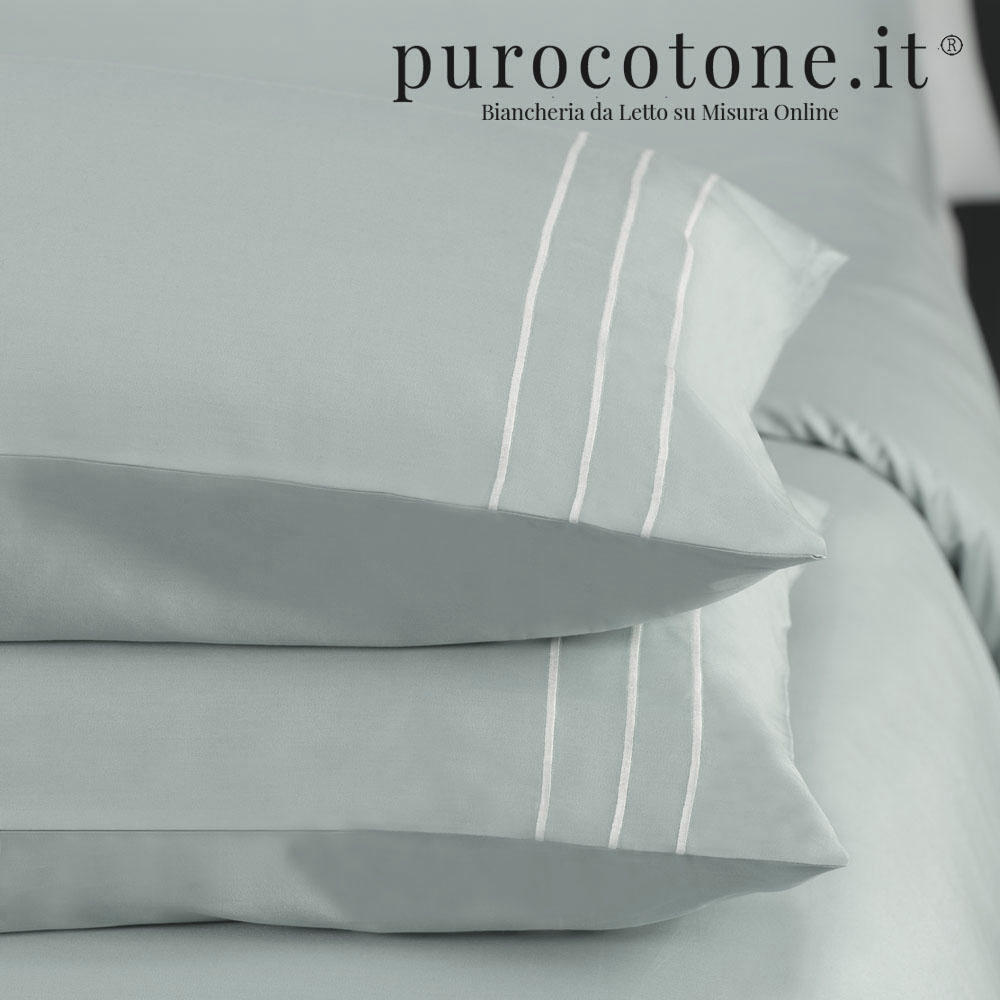 Federa Percalle Extra Fine di Puro Cotone TC200 Rigoletto