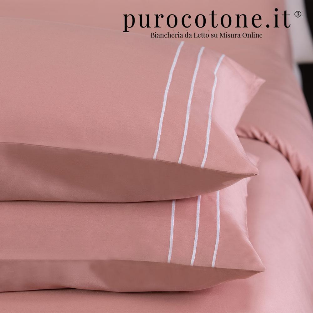 Federa Raso Extra Fine di Puro Cotone TC300 Rigoletto