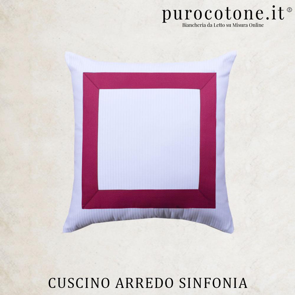 Cuscini Arredo Sinfonia Cotone Extra Fine