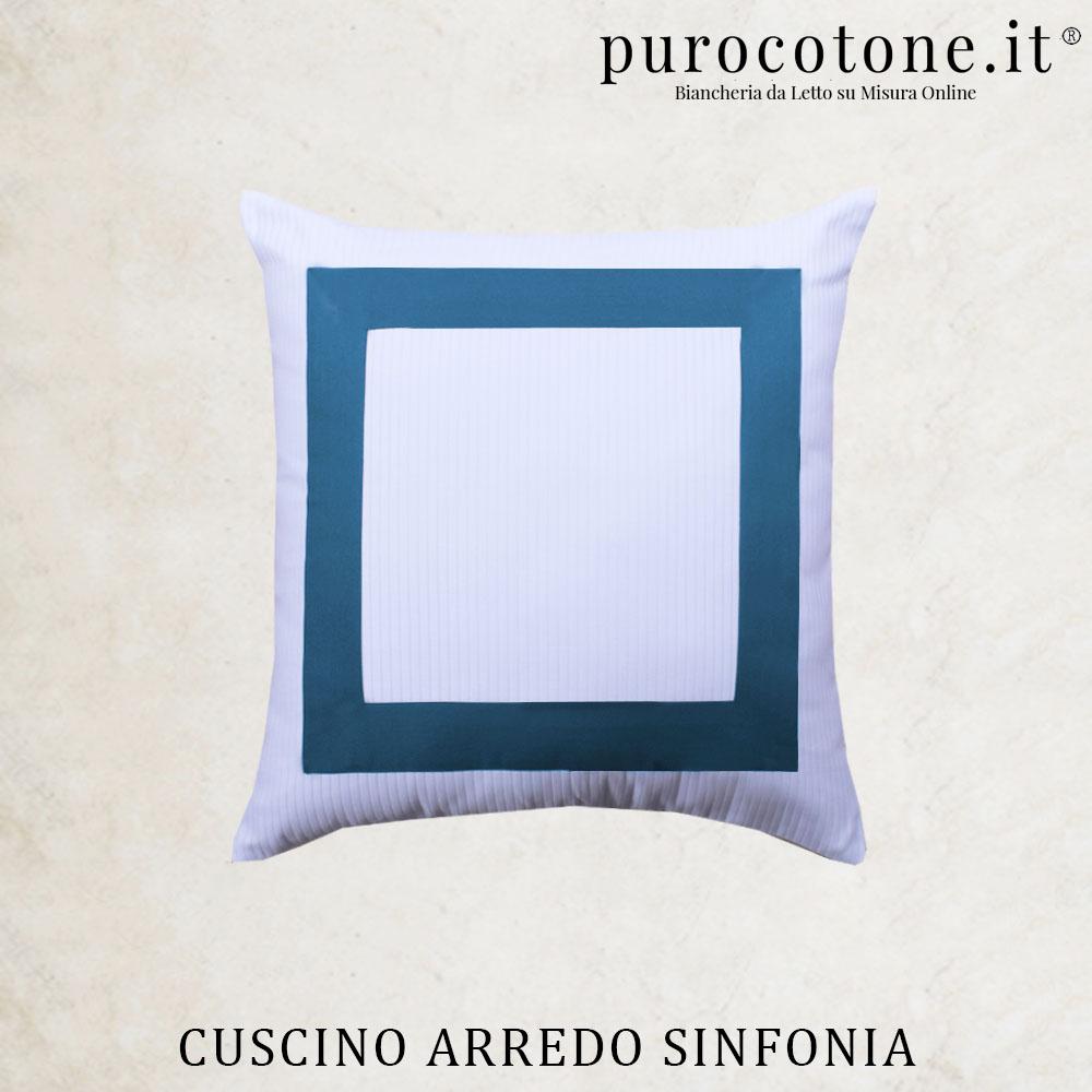 Cuscini Arredo Sinfonia Cotone Extra Fine no Stiro