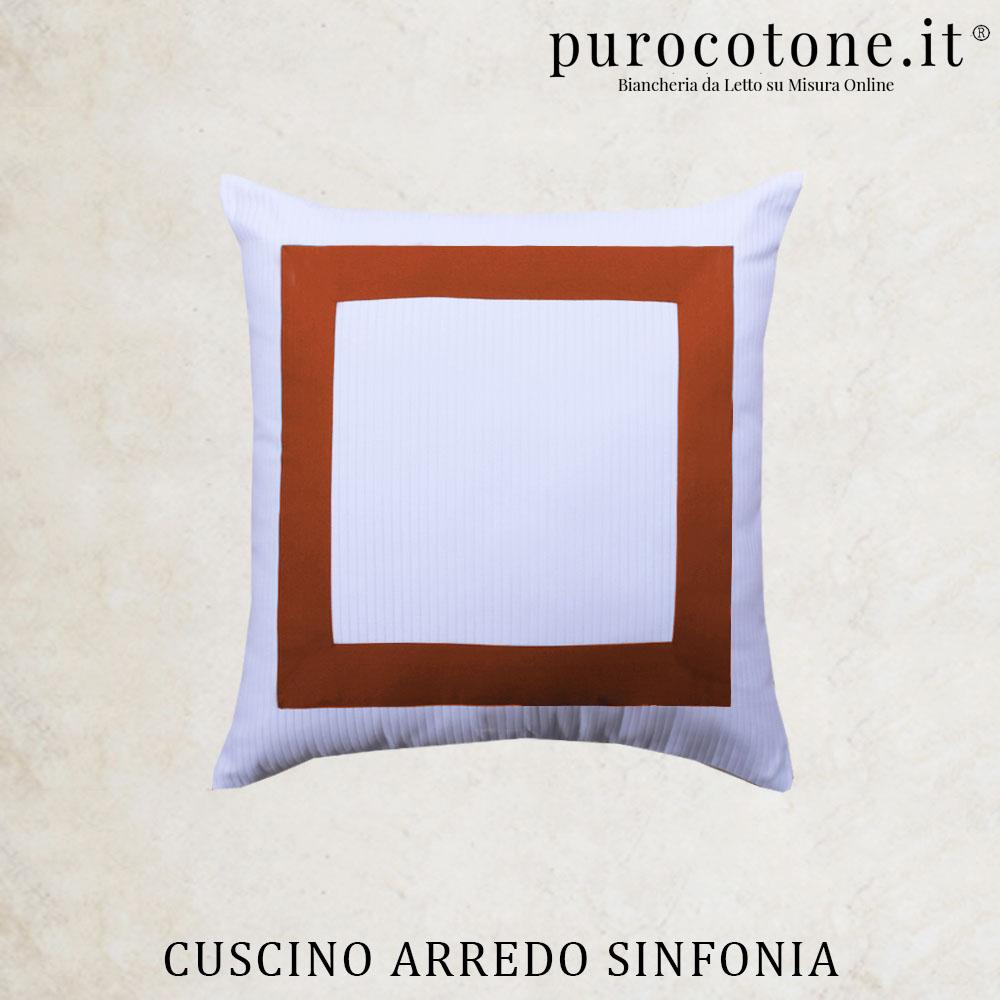 Cuscini Arredo Sinfonia Percalle Extra Fine TC200
