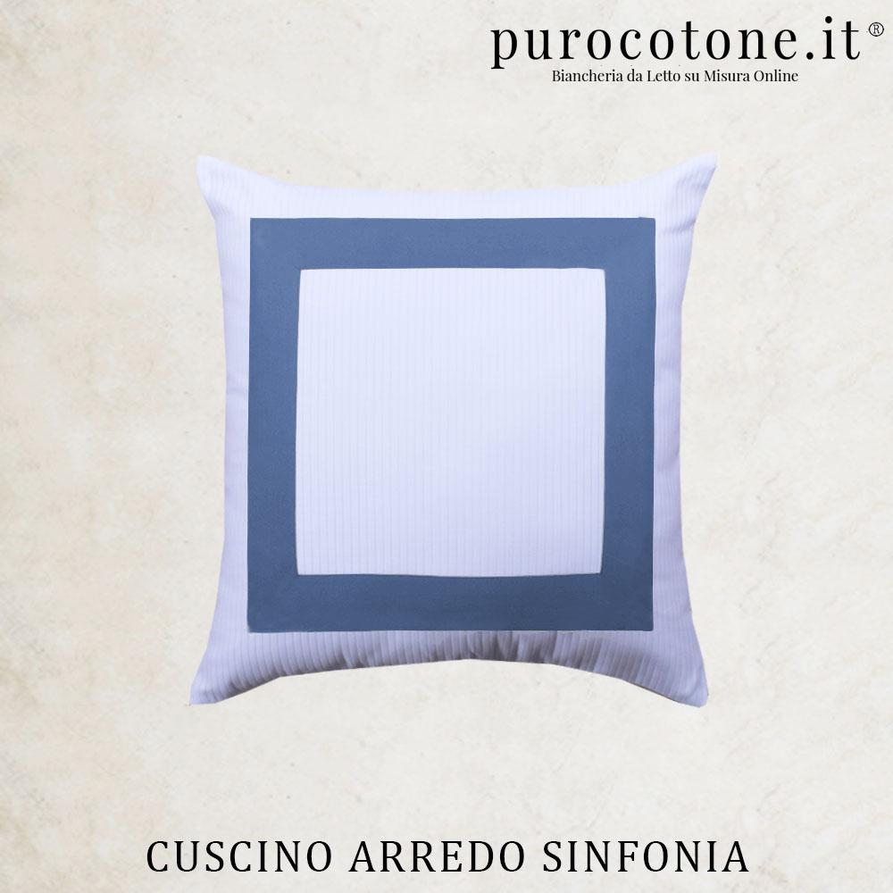 Cuscini Arredo Sinfonia Raso Di Puro Cotone TC210