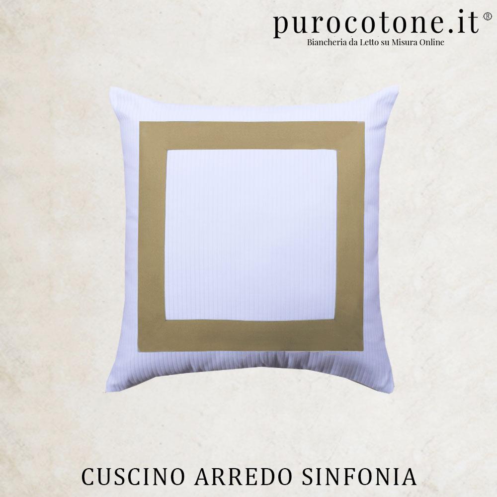 Cuscini Arredo Sinfonia Raso Extra Fine TC300