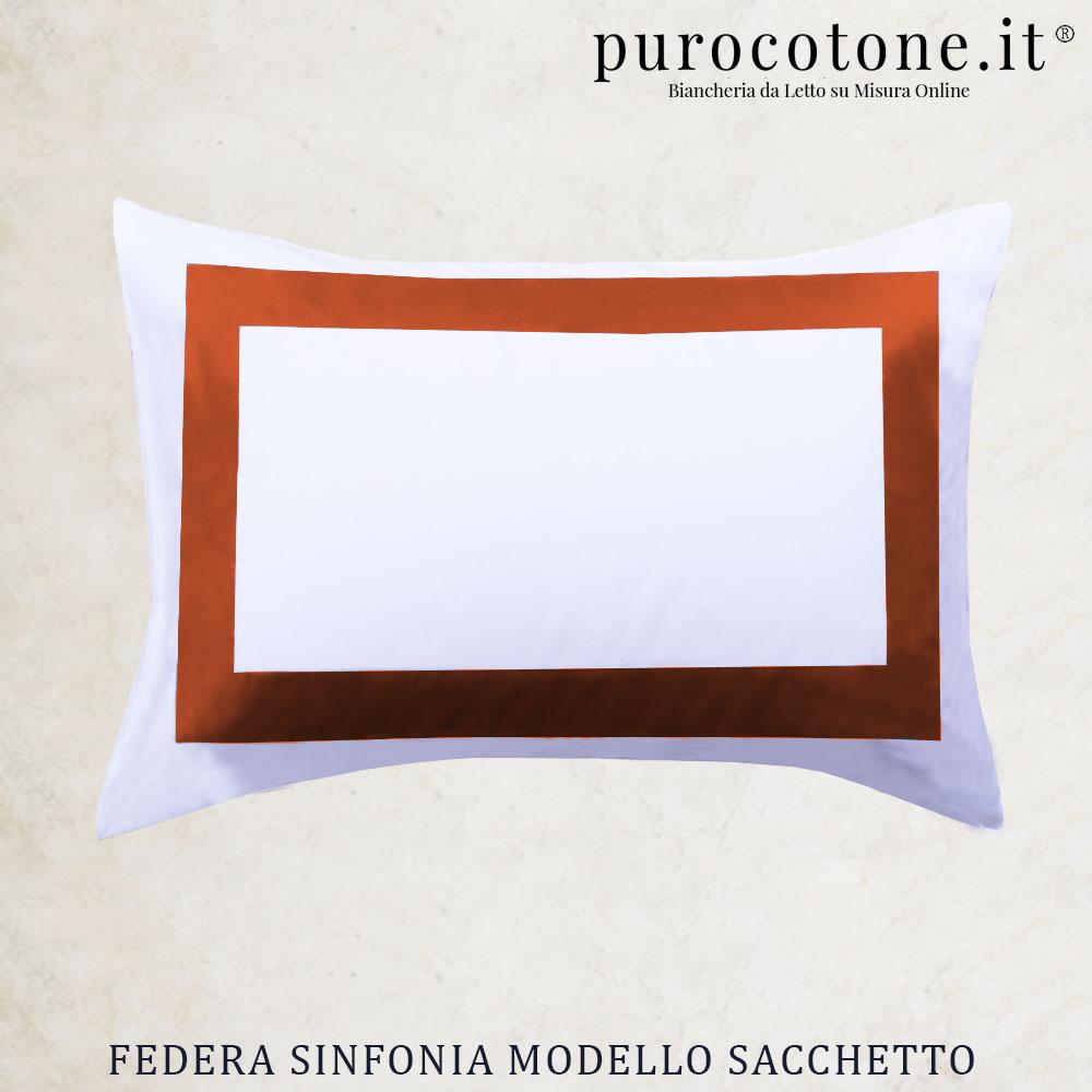Federa Percalle Extra Fine di Puro Cotone TC200 Sinfonia