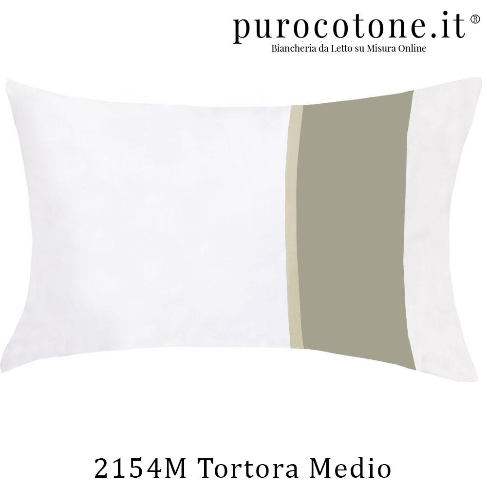 Federa Raso di Puro Cotone TC210 Fiocco