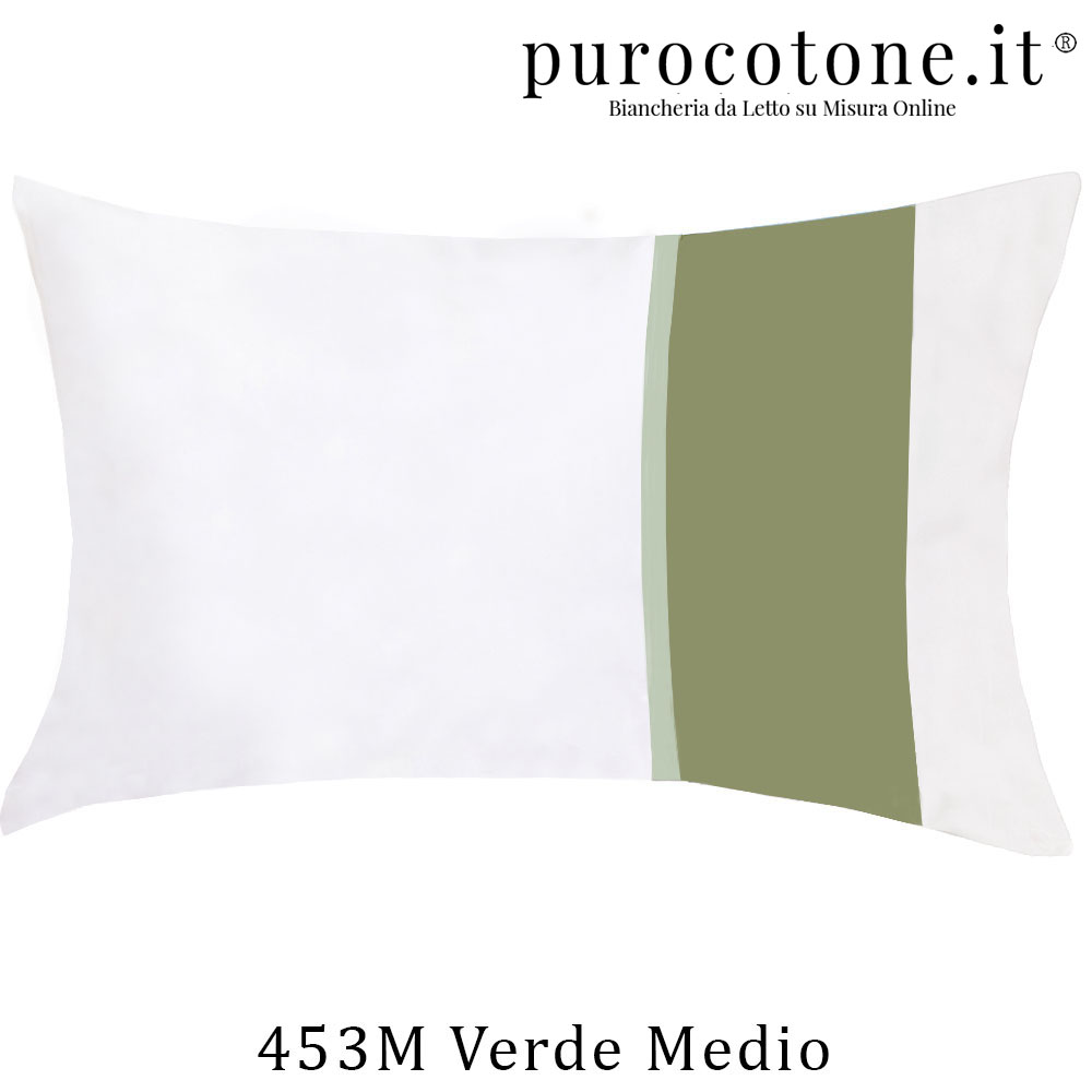 Federa Raso Extra Fine di Puro Cotone TC300 Fiocco