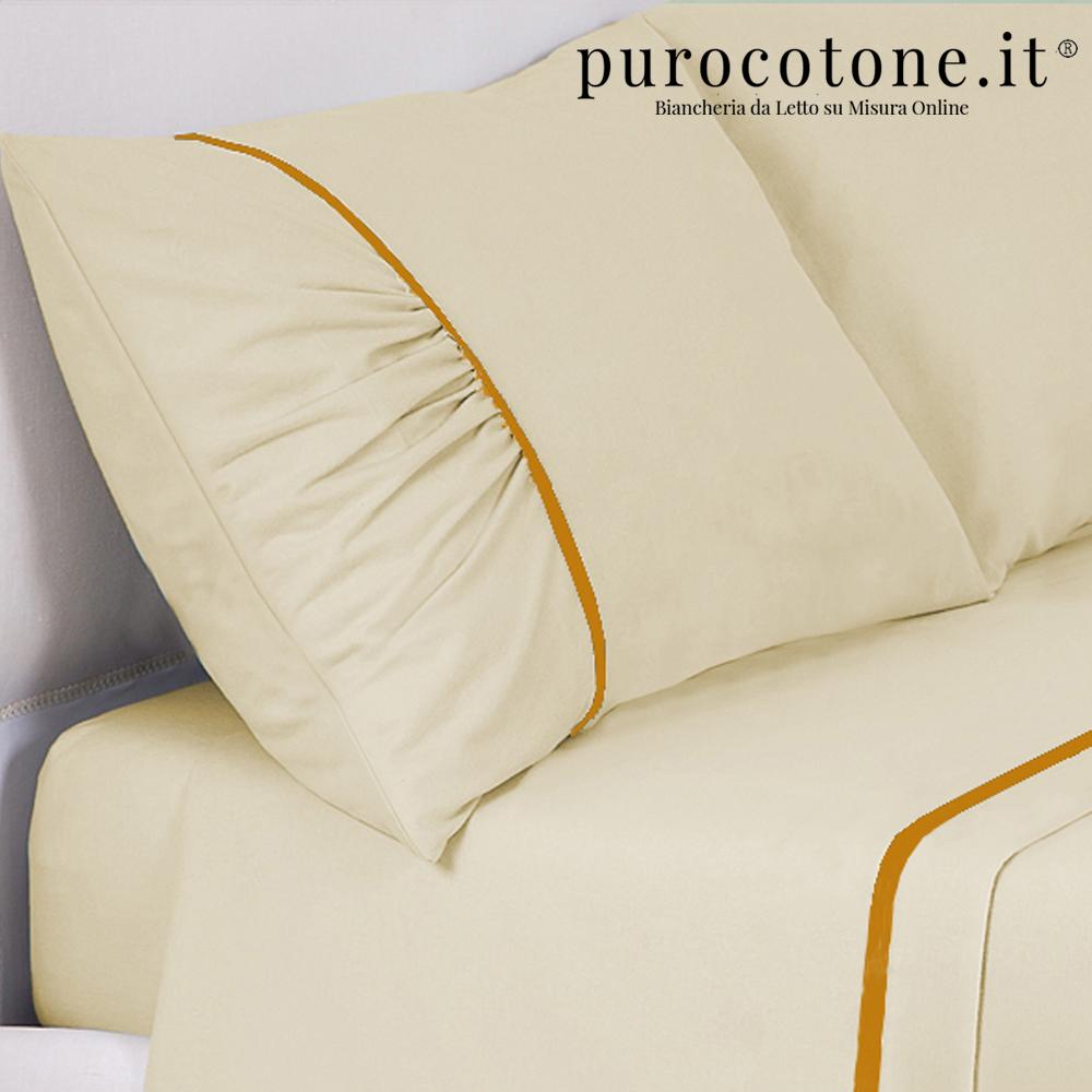 Federa Raso Extra Fine di Puro Cotone TC300 Drap