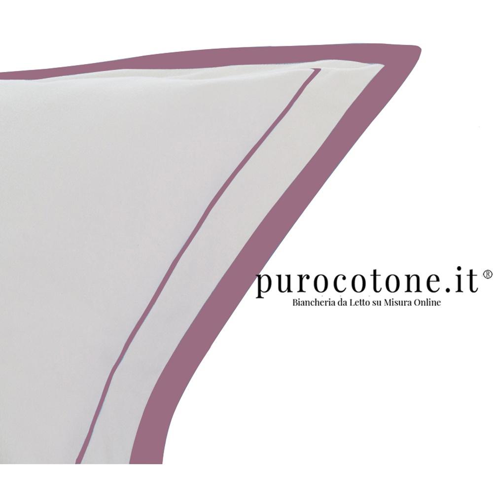 Federa Raso di Puro Cotone TC210 Nuvola