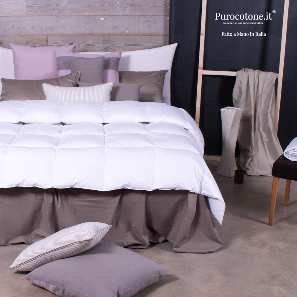 Piumone Invernale in Percalle TC200 350gr/mq 265x220 Outlet