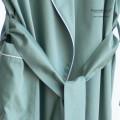 Vestaglia Donna in Raso Extra Fine di Puro Cotone TC300 Minimal