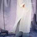 Camicia da Notte Lunga Uomo in Puro Lino Melange
