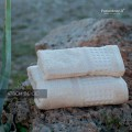 Set Asciugamani Bagno Spugna Viso e Ospite Honey