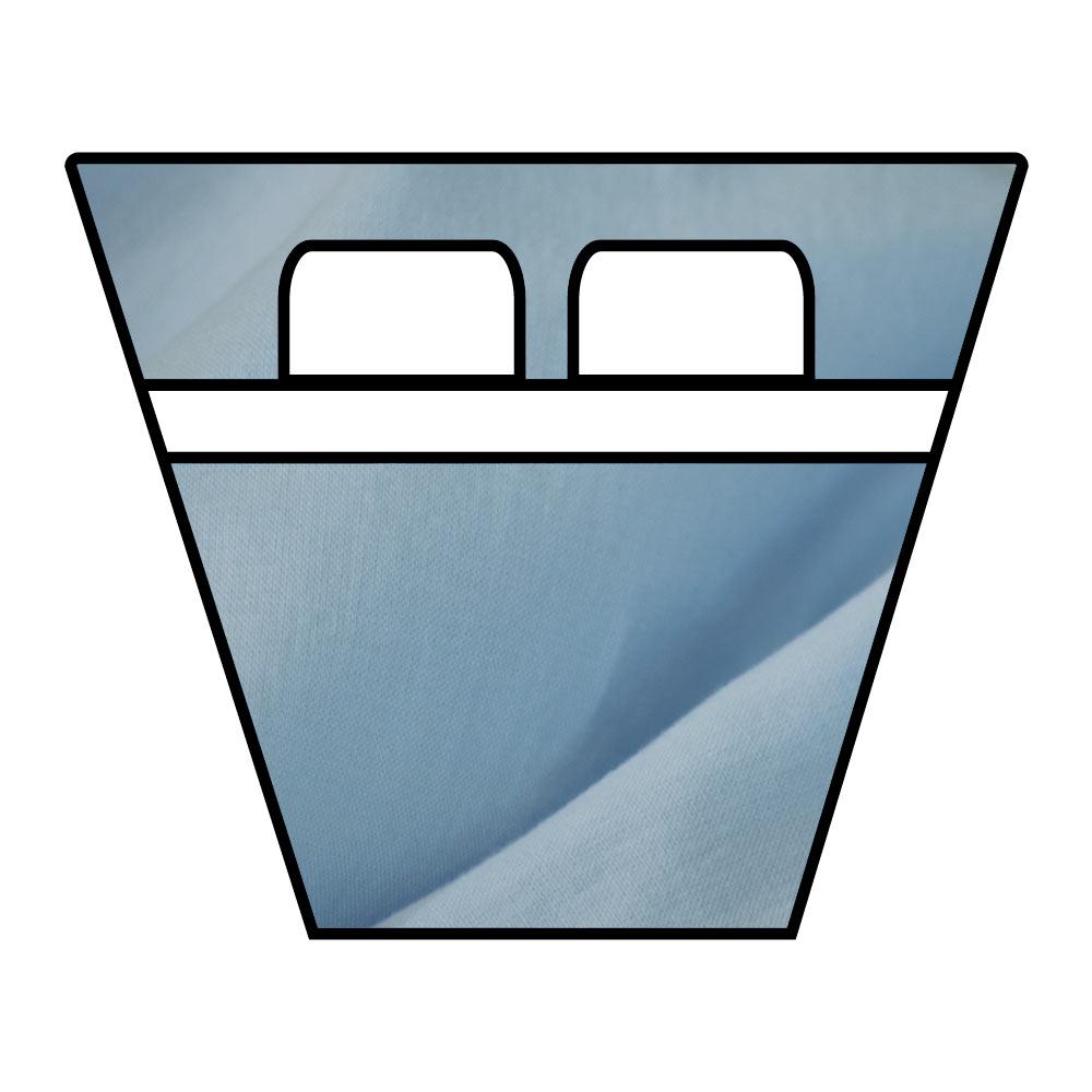 Lenzuola Sotto con Angoli - Barche e Camper - Cotone No Stiro Stropicciato - su Misura