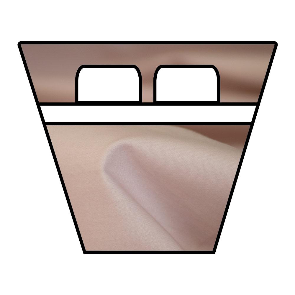 Lenzuola Sotto con Angoli - Barche e Camper - Percalle Extra Fine di Puro Cotone TC200 - su Misura