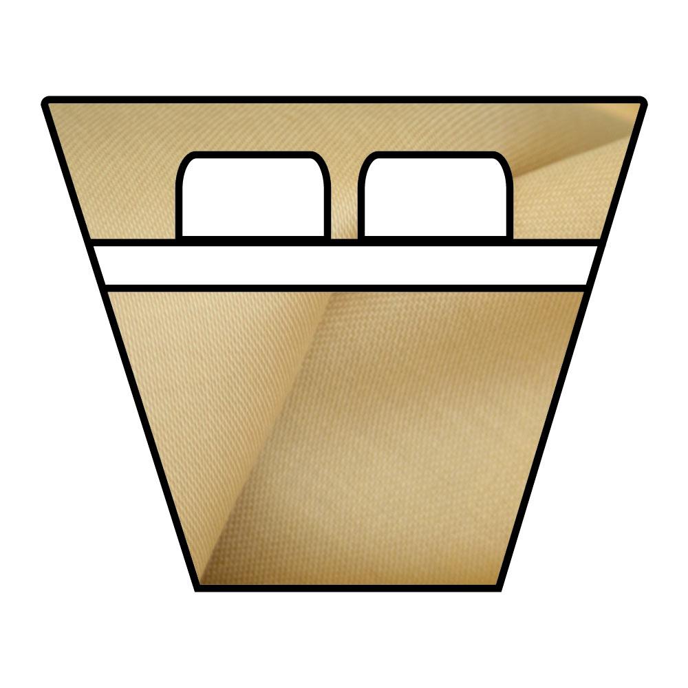 Lenzuola Sotto Con Angoli - Barche e Camper - Raso di Puro Cotone TC210 - su Misura