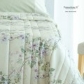 Trapunta Primaverile - su Misura Maxi King Size - Raso Extra fine di Puro Cotone TC300 Hanami