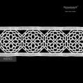 Federa Percalle Extra Fine di Puro Cotone TC200 Pizzo Parigi