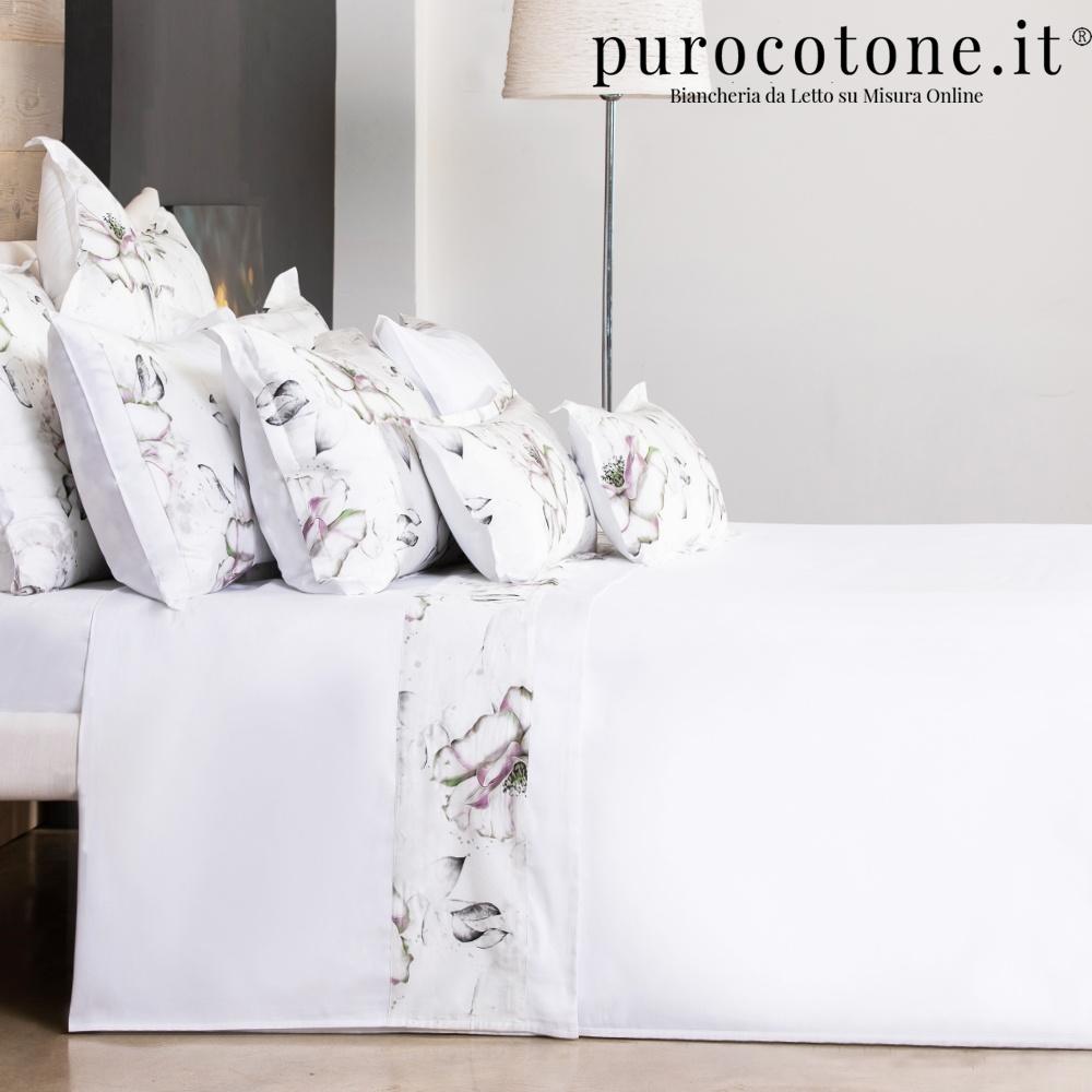 Lenzuola Raso di Puro Cotone TC210 Romantica Outlet