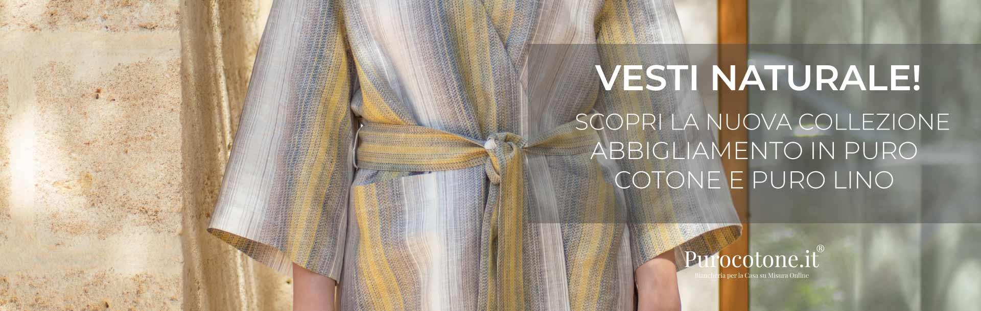 La nuova Linea Abbigliamento di Purocotone.it
