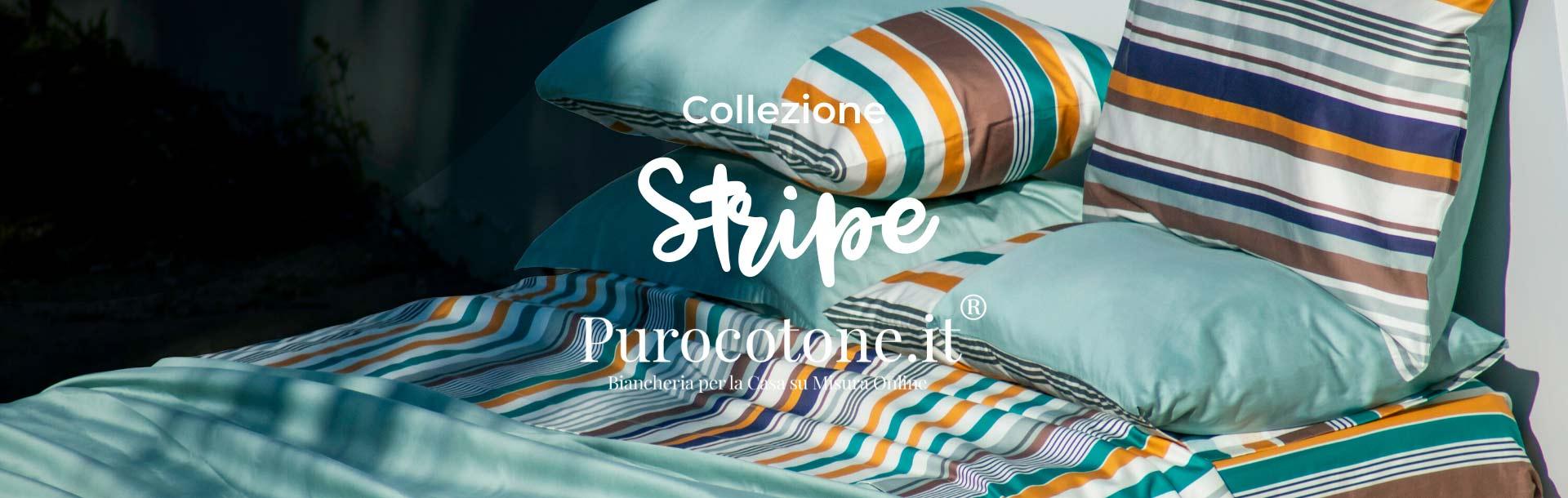 Collezione Stripe di Purocotone.it