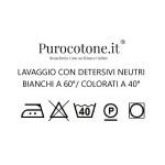 Parure Copripiumino su Misura Maxi King Size Raso Extra Fine Di Puro Cotone TC300 Cali 1